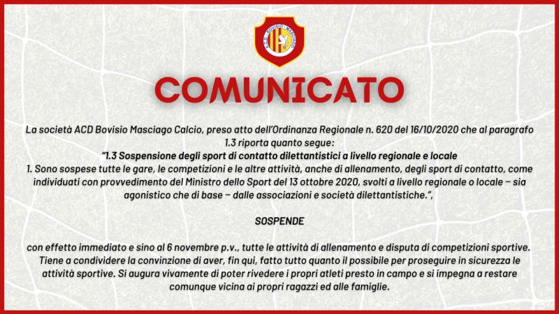 COMUNICATO SITO